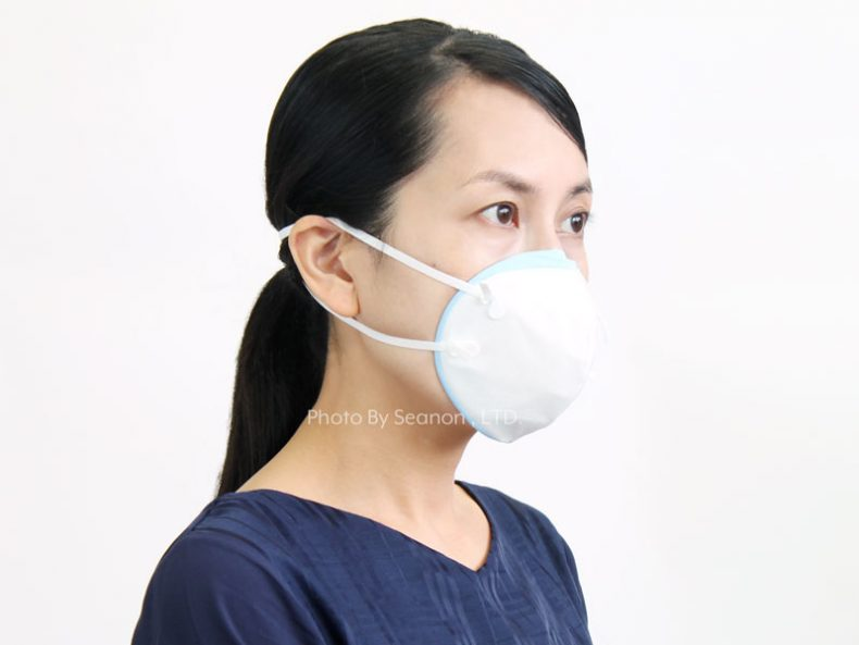 ハイグレード火山灰用マスク